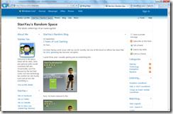 WindowsLiveSpaces